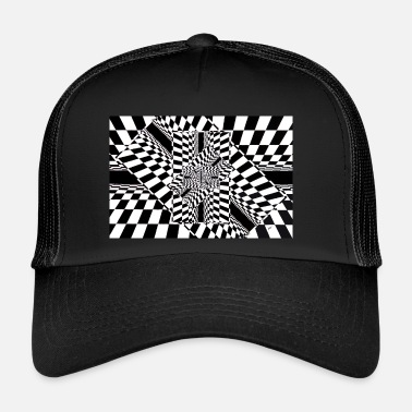 Rectangle rectangle - Trucker Cap