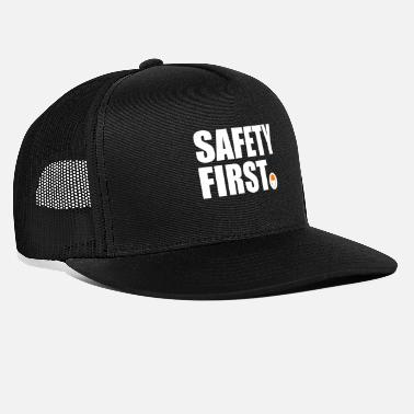Helmet Safety First Safety First Protective Helmet Protect - Trucker Cap
