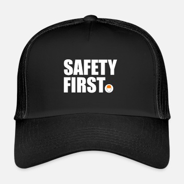 Safety Helmet Safety First Safety First Protective Helmet Protect - Trucker Cap