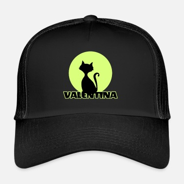 First Name Valentina Name First name - Trucker Cap