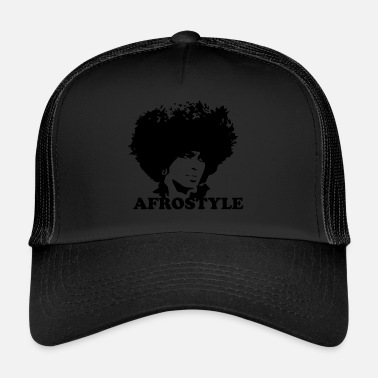 African American silhouette afro-américaine - Trucker Cap