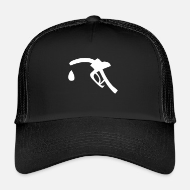 Gas A white tap for refueling - Trucker Cap