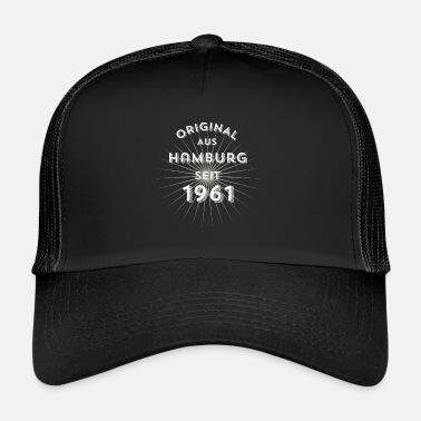 1961 Original from Hamburg since 1961 - Trucker Cap