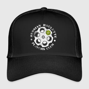Roulette Russian Roulette Players Club - Trucker Cap