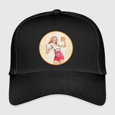 Oktoberfest Beer Girl 721541 - Trucker Cap
