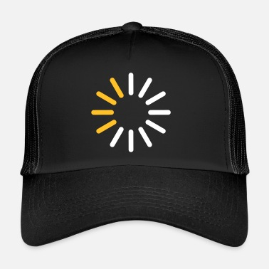 Download Fremskridtsindikator for en download - Trucker Cap