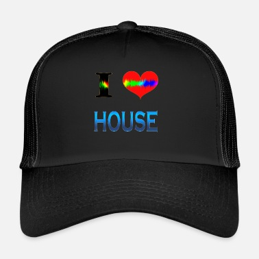 House I Love House - Trucker Cap