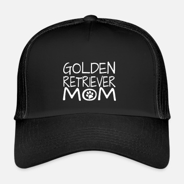 Golden Retriever Golden Retriever Dog mamma - Trucker Cap