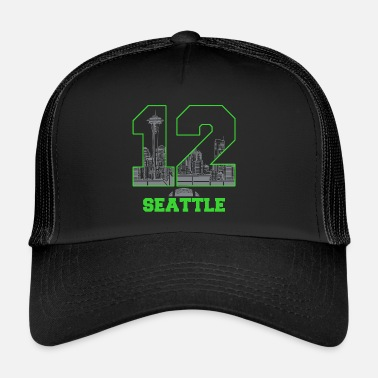 Twelve twelve seattle - Trucker Cap