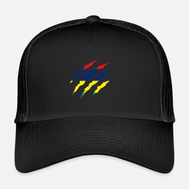 Maurice Griffe pays griffe Maurice png - Trucker Cap