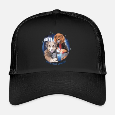 Collections doc woof pieni PNG - Trucker Cap