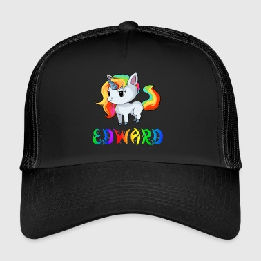 Edward unicorn - Trucker Cap