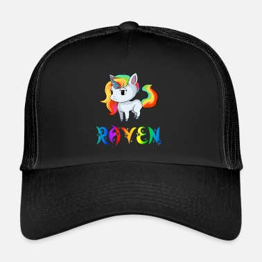 Rave Unicorn Raven - Trucker Cap