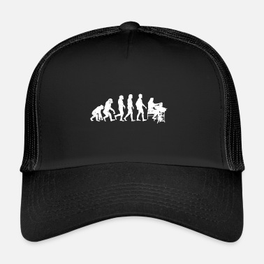 Tailor tailoring evolution tailor job gift job - Trucker Cap