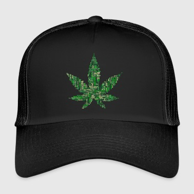 Marijuana collage - Trucker Cap