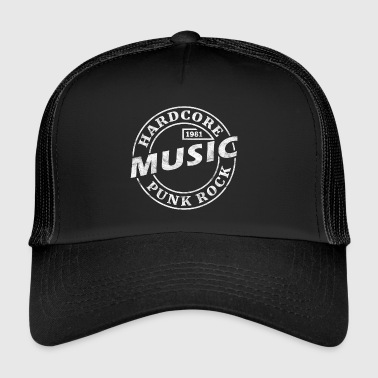 Hard-core punk rock 1981 - Trucker Cap