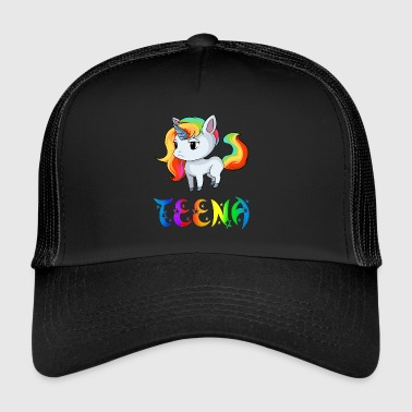 Teen Unicorn Teena - Trucker Cap