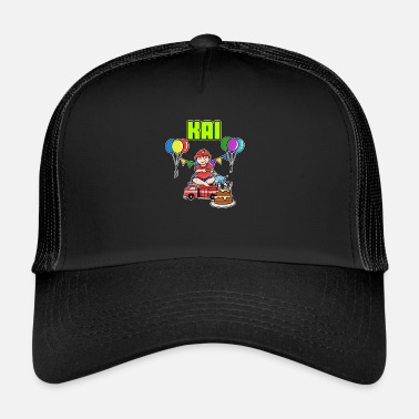 Kai Fire Department Kai Gift - Trucker Cap
