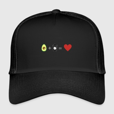 Avocado / caffè / cuore / amore Coffee Shop Avocado - Trucker Cap