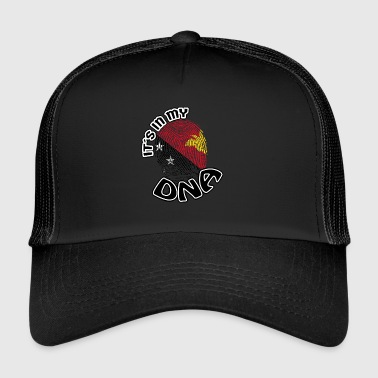 Papua New Guinea Gift Its in my dna dns roots Papua New Guinea - Trucker Cap