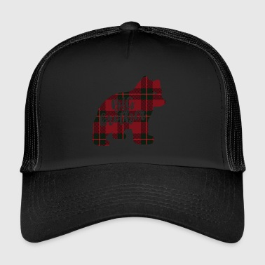Big Brother Big brother shirt in checked look - English - Trucker Cap