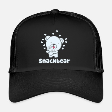 Snack Snack Ours / snack-bar avec coeur - Trucker Cap