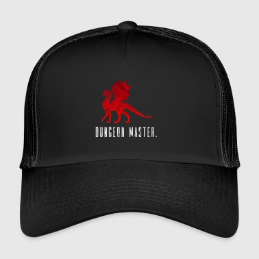 Dungeons And Dragons Dungeon Master! Cool dragon gift idea - Trucker Cap