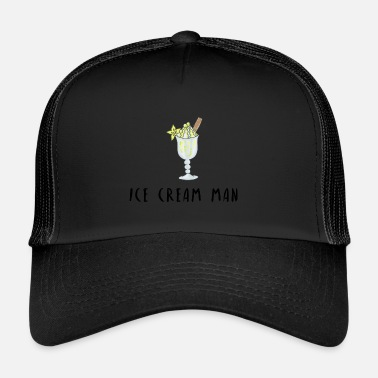 Ice Man Ice cream man ice cream candy gift idea - Trucker Cap