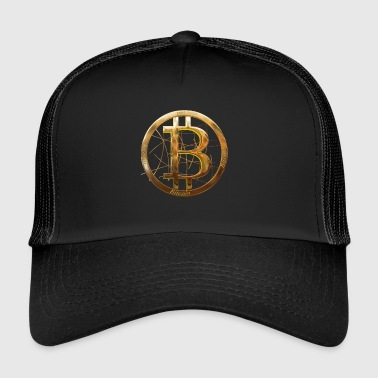 Bitcoin currency - Trucker Cap