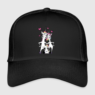 Family unicorn - Trucker Cap