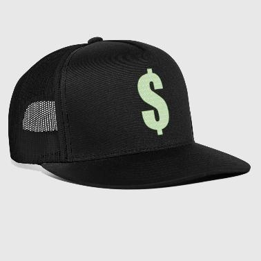 $money mit dollar musterung - Trucker Cap