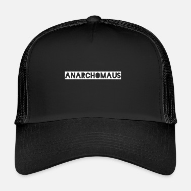 Anarchism Anarcho mouse - Trucker Cap