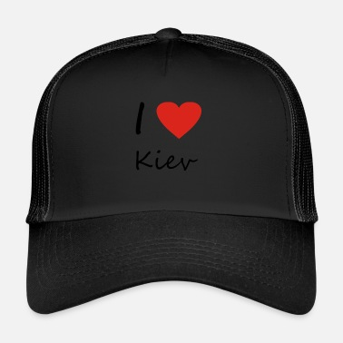 Kiev Kiev heart gift idea - Trucker Cap