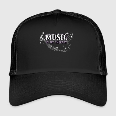 Music clef notes gift - Trucker Cap