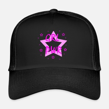 Girl Power Girl Power - Power Woman - Girl - Trucker Cap