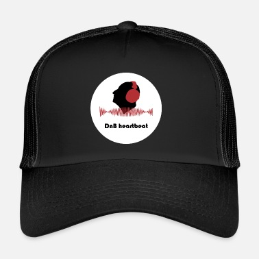 Dnb DnB heartbeat - Men - Trucker Cap