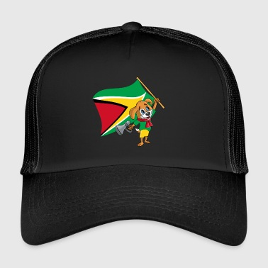 Guyana fan chien - Trucker Cap