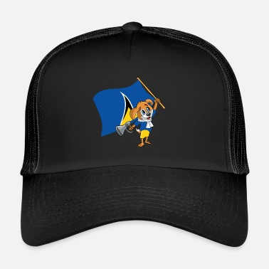 Lucia St. Lucia fan dog - Trucker Cap
