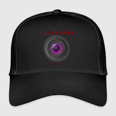 Photo lens lens aperture saying - Trucker Cap