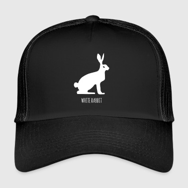 Mountain Hare White rabbit, snow hare, fable - Trucker Cap