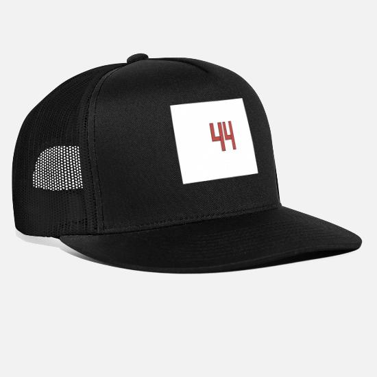 44 Caps & Hats - 44 - Trucker Cap black/black