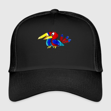 Perroquet coloré - Trucker Cap