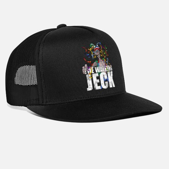 Carneval Caps & Hats - The Walking Jeck Carnival bestseller shirt - Trucker Cap black/black