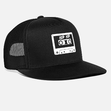 School Hip Hop Retro Old school rapper rap tape saying - Trucker Cap
