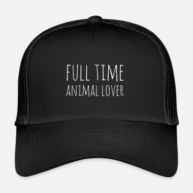 Animal Rights Animal Lover - Trucker Cap