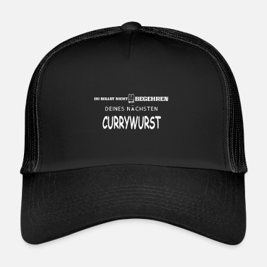 Curry SAUCISSE AU CURRY - BID - Trucker Cap