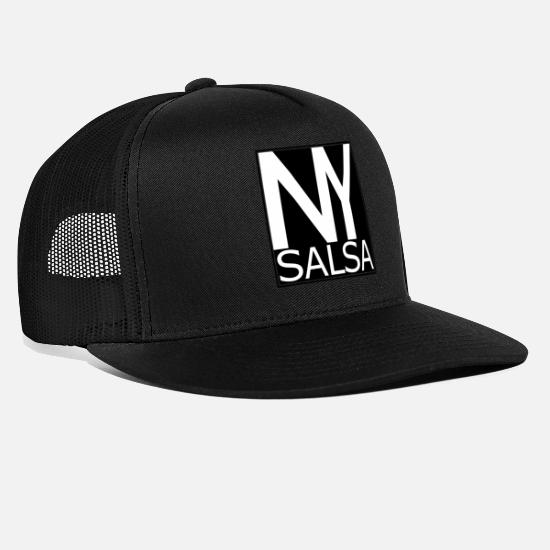 Salsa Kasketter & huer - NY Salsa - New York Salsa - sort - Trucker cap sort/sort