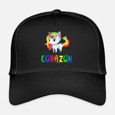Corazon Unicorn Corazon - Trucker Cap