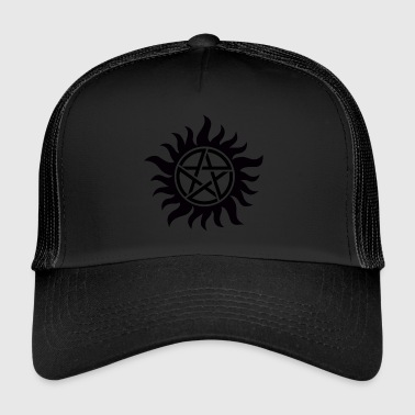 Supernatural Supernatural Anti Possession - Trucker Cap
