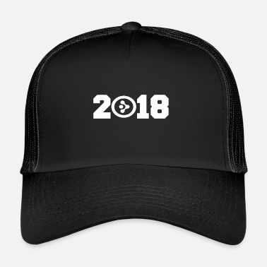 Minimum &amp Gift 2018 New Year AMP Synereo crypto coin - Trucker Cap